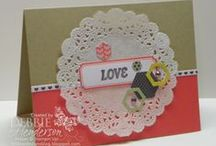 Paper Pumpkin January 2014 - Love Notes / January 2014 Paper Pumpkin Kit