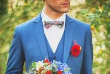 Le marié / #groom #lemarié #marié #suits #bowtie #tie