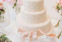 Cerise sur le gâteau / Gâteau de mariage, pièce montée