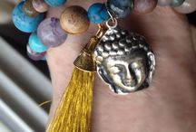 Sharma Boutique Esty / My jewelry line, Buddha bracelets, agate stones, healing and beautiful beads
