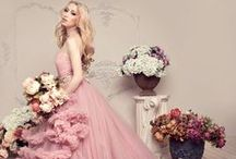 Colorama / Robes de mariée colorées