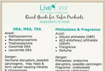 Ingredient Cheat Sheets & Check Lists / What to know what toxic ingredients to avoid in beauty products? Pin these guides and pull up when shopping for easy reference