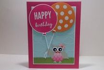 Paper Pumpkin's Birthday Cards / Thanks for all the birthday love! Paper Pumpkin turned 2 in March 2015! / by Paper Pumpkin by Stampin' Up!