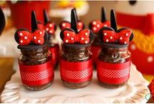 Mickey Mouse + Minnie Mouse Party Ideas