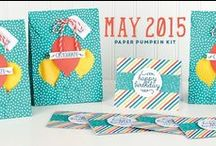 Paper Pumpkin May 2015 - Birthday Bundle / May 2015 Paper Pumpkin Kit