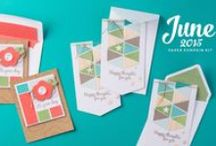 Paper Pumpkin June 2015 - Happy Thoughts / June 2015 Paper Pumpkin Kit