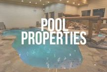 Pool Time / Cabin rentals with private pools. It's sure to be a splashin' good time!