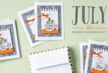 Paper Pumpkin July 2015 - Thanks a Latte / July 2015 Paper Pumpkin kit