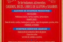 COCINA CELICIOSA - casera y gluten free / Imagenes y recetas de alimentos gluten free elaborados por COCINA CELICIOSA