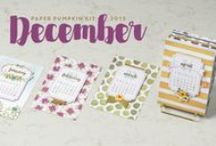 Paper Pumpkin December 2015 - One Great Year / December 2015 Paper Pumpkin Kit