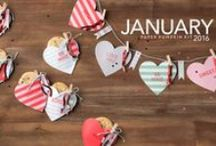 Paper Pumpkin January 2016 - Cute Conversations / January 2016 Paper Pumpkin kit