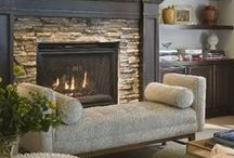 Rustic Fireplaces + Mantels / Looking for ideas for your fireplace or mantel? This is the best round up of the most beautiful rustic fireplaces and mantels. decorations, diy, wood, farhouse style, decorating, ideas, brick, family rooms, stone walls, country, tvs, window frames, lanterns, baskets, built ins, vintage, vignettes, shiplap