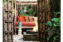 Bohemian decoration / Get inspired with Boho chic ideas