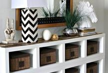 IKEA Hacks / On a budget? This round up of the best IKEA hacks will help you get the look you want for the price you want. bedroom, kids, storage, closet, desk, dresser, billy bookcase, nightstand, kitchen, dresser