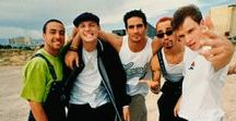 Backstreet's back, alright ✌❤ / They are so much more than just a band ❤ Brian ❤Kevin ❤Nick ❤AJ ❤Howie
