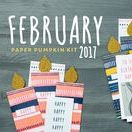Paper Pumpkin February 2017 Many Happy Birthdays