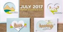 Paper Pumpkin July 2017 Positively Picturesque