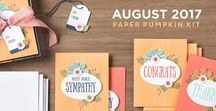 Paper Pumpkin August 2017 Giftable Greetings