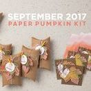Paper Pumpkin September 2017 Layered Leaves