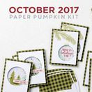 Paper Pumpkin October 2017 Pining For Plaid