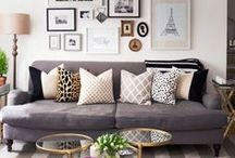 Gallery Wall Inspiration / With so many ways to create a gallery wall, where do you start? This board has everything you need to create the perfect gallery wall the first time. bedroom, DIY, entry way, décor, simple, tips, color, printabe art, stairs