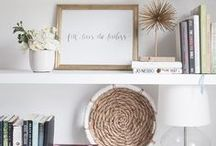 Styling Bookshelves / Having trouble styling your bookshelves? This board is perfect round up of all the tips and tricks you need to successfully style your bookshelves. built in bookcase, styling with books, styling with pictures, decoration, minimalist, how to decorate shelves, styling with baskets, ikea, how to style bookshelves, organize bookshelf