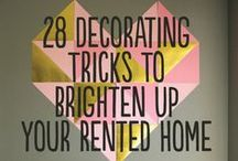 Oranising & Decorating Ideas (incl. DIY stuff) / I am not good at decorating and organising at all. Not a single clue. And then you have more to clean oO But here are a few neat things i would do.