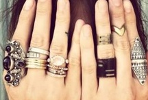 Rings and bling