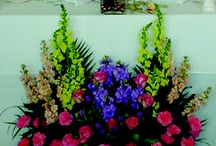 Flowers for Social Events / Flower Arrangements and Floral Designs for Balls, Galas, and Weddings.