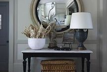 Mirror Mirror on the wall / Great ways to use mirrors in decorating