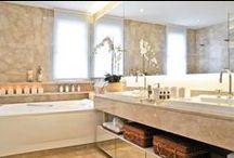 Bathrooms | Banheiros / Ideas at about design, materials etc