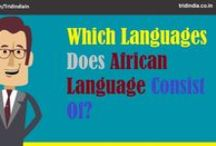Africian Language Translation Services / TridIndia Translation Companies can provide authentic and premium quality African Languages Translation Services.