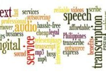 Audio Transcription Services Resources / We are providing Audio and Video Transcription Services with Guaranteed Quality to our clients with 100% efficiency and accuracy.