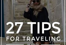 Travel / How to's, tips and tricks to make your travel easier + travel necessities and musts