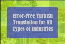 Turkish Translation Services Provider / We offering professional Turkish language translation services with high quality and expert Turkish translators.