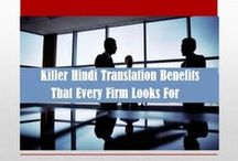 Hindi Language Translation