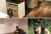 DIY Möbel / Tische Schränke Treppen Couch usw.