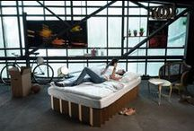 Superb Way To Sleep   THE BED V2.0 / Our newest version of the cardboard bed- even more individual, more beautiful, more stable than ever before. Unsere verbesserte Version des Pappbetts- noch flexibler, noch schöner, noch stabiler.