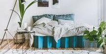 Das Pappbett / Nachhaltiges Bett aus Wellpappe - made in Germany