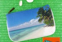Ocean Dream / Mlavi loves ocean-Our Ocean Dream collection contains Bori cross body bags, flat wallets, makeu pouches, vintage style kiss lock frame coin purses, luggage tags and small pouches. They are available for wholesale to verified retailers and corporate gift buyers. We deliver world wild. They are most suitable for trendy boutiques, gift shops and museum gift stores. Wholesale available at www.mlavi.com, shop retail at www.mlavi.ca