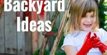 Kid Friendly Backyard ideas / On this board you will find a collection of inspiring ideas, play activities and projects to help parents, early years educators, carers and teachers create engaging, unique outdoor play spaces and encourage children to enjoy their outdoor environment!