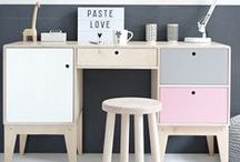 Interior ideas / We share here our ideas for interior spaces, containing our plywood furniture and applied objects. Inspire yourself!  www.woodrepublic.eu