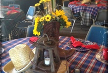 Western Parties at Faulkner's Ranch