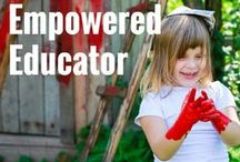 The Empowered Educator Ideas & Inspiration / A collection of play based learning ideas, activities, projects and resources shared on my popular early childhood blog The Empowered Educator. On this board you will find simple ideas and Inspiration for early years teachers, educators, and parents committed to play based learning!
