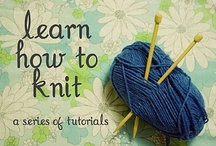 Knit and Crochet / by Stephanie Eberhart