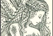 coloring pages / by Holly Robertson