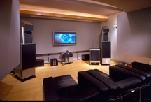 "Alan May / Dallas, TX: Planned as a dedicated music Listening Room, family ""suggestions"" upgraded the project to a luxurious home theater. Room-within-room & floating floor isolation enables May to crank up the volume in his acoustically ideal environment without disturbing neighbors."