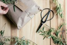 Wrap it pretty / The wrapping is just as important as the present inside! Soak up some inspiration from the selection below and get giving. It feels so good to put thought and effort into the gift you give.