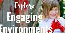 Engaging Environments / This board is a collection of inspirational child care,home and family day care environment ideas. You'll find organisation tips and set up ideas for inside and outside to help create the perfect play and learning spaces!