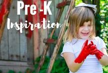 Pre K Inspiration / Play based ideas, activities and projects for children aged 3-6 years getting ready for school!
